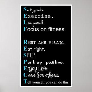 Motivación del ejercicio póster