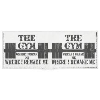 Motivación del gimnasio billeteras tyvek®