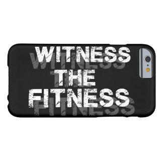 Motivación del gimnasio del entrenamiento de la funda de iPhone 6 barely there