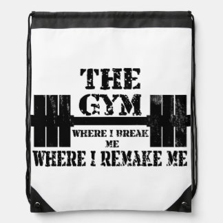 Motivación del gimnasio mochilas