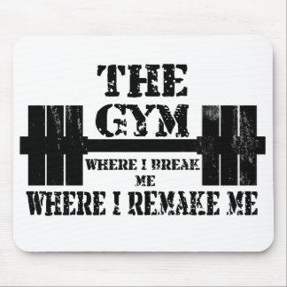 Motivación del gimnasio mouse pads