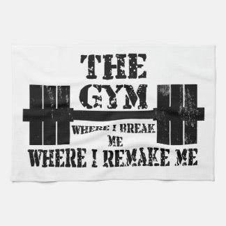 Motivación del gimnasio toallas