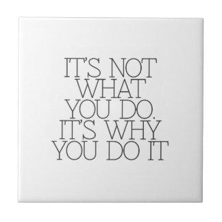 Motivación, inspiración, palabras de la sabiduría. azulejos ceramicos