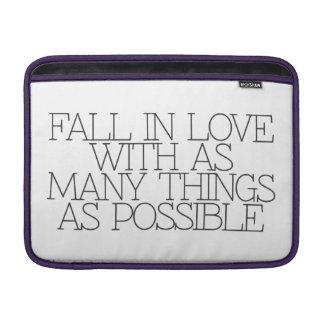 Motivación, inspiración, palabras de la sabiduría. fundas para macbook air