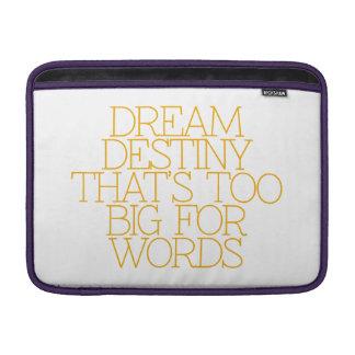Motivación, inspiración, palabras de la sabiduría. fundas macbook air