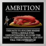 Motivador de la fantasía de la ambición (de) impresiones