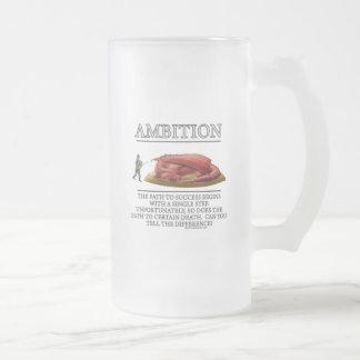 Motivador de la fantasía de la ambición de taza de café