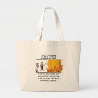 Motivador de la fantasía de la fe (de) bolsas de mano