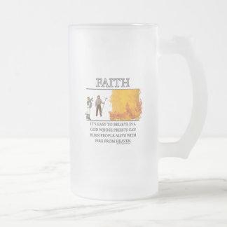 Motivador de la fantasía de la fe de tazas de café