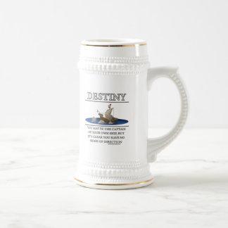 Motivador de la fantasía del destino de tazas de café
