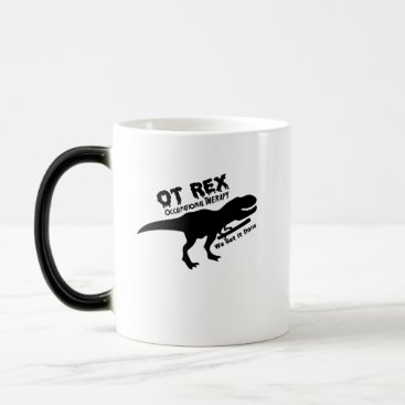 de_look Motivate Dinosaurs T-Rex Occupational Therapy Gift Magic Mug