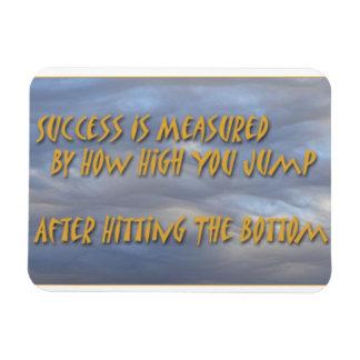 Motivate Magnet, Inspirational Cliche Magnet