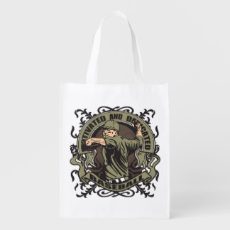 Motivated Baseball Grocery Bag