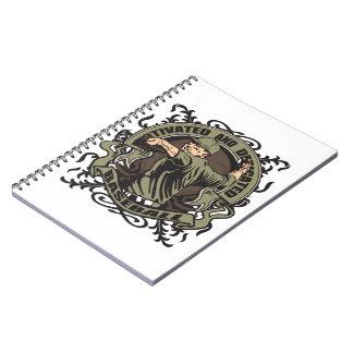 Motivated Baseball Spiral Notebook
