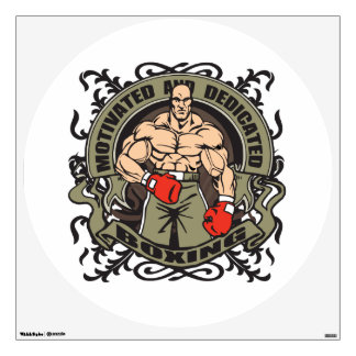 Motivated Boxing Wall Decal