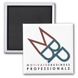 Motivated Business Professional Refrigerator Magnet