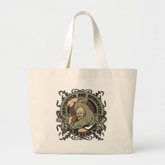 Motivated Rugby Large Tote Bag