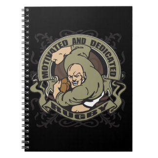 Motivated Rugby Notebook