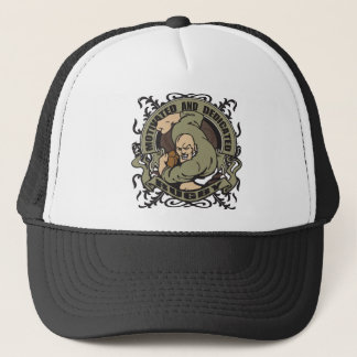 Motivated Rugby Trucker Hat