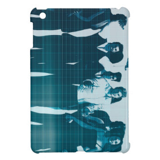 Motivated Workforce and Staff Employees Smiling iPad Mini Cases