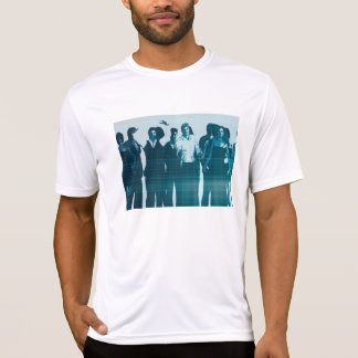 Motivated Workforce and Staff Employees Smiling T-Shirt