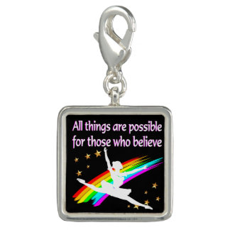 MOTIVATING ALL THINGS ARE POSSIBLE DANCER DESIGN CHARM