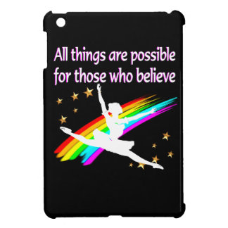 MOTIVATING ALL THINGS ARE POSSIBLE DANCER DESIGN iPad MINI CASE