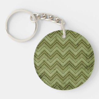 Motivating Brave Successful Tranquil Single-Sided Round Acrylic Keychain