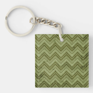 Motivating Brave Successful Tranquil Single-Sided Square Acrylic Keychain