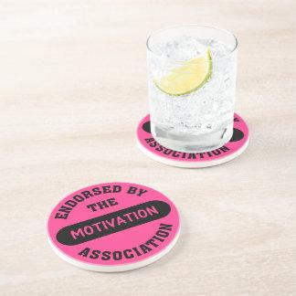 Motivation Association Endorsement Drink Coaster