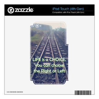 Motivation for Your life Skin For iPod Touch 4G