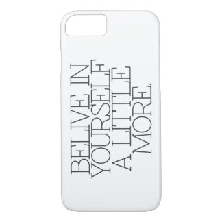 Motivation, inspiration, words of wisdom. quotes iPhone 8/7 case