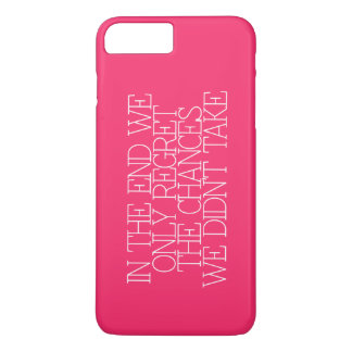 Motivation, inspiration, words of wisdom. quotes iPhone 8 plus/7 plus case