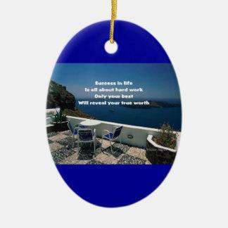 Motivation of life ornaments