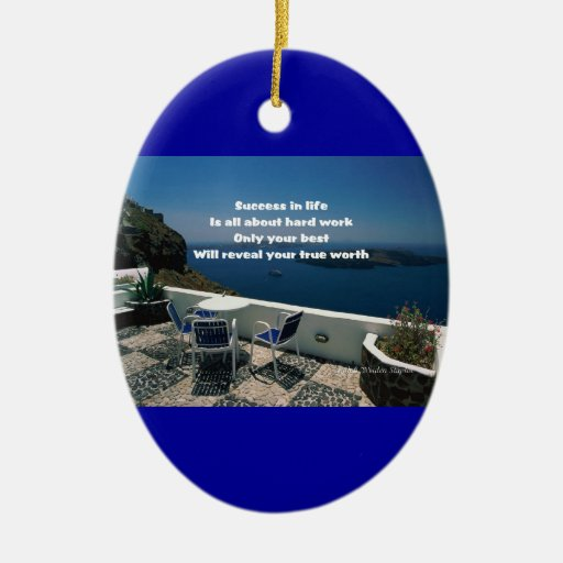 Motivation of life ornaments