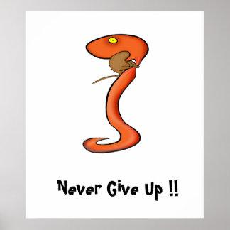 Motivation Poster: Never Give Up !!