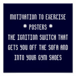 Motivation to Exercise* Posters *
