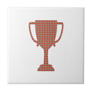 Motivation Tools Coach Mentor Teacher Trophy STARS Ceramic Tile