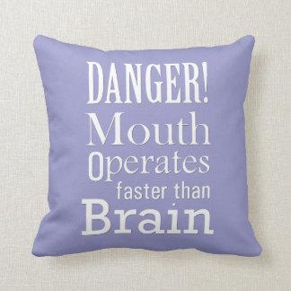 Motivational and Inspirational Throw Pillow