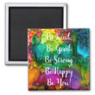 """Motivational and Inspirational Words Magnet 2"""""""