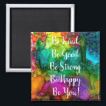 "Motivational and Inspirational Words Magnet 2""<br><div class=""desc"">A fun, colorful and whimsical hand-drawn and painted abstract design with words. This colorful magnet is a perfect gift for special person in your life or for yourself. I hope it makes you happy . . . that is my goal and passion! ⭐You can be creative and customize all my...</div>"