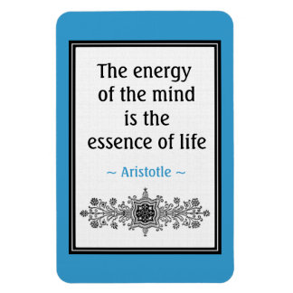 Motivational Aristotle Quote Magnet :Life