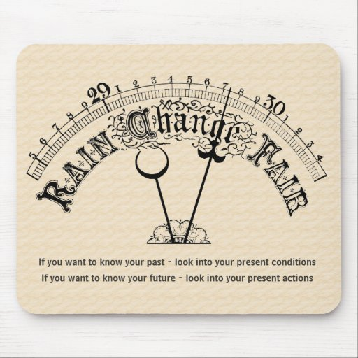 Motivational Barometer Personal Change Mousepad