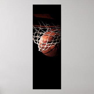 Motivational Basketball Sport Poster Print