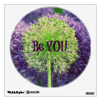 Motivational Be You Quote Wall Decal