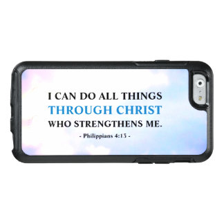 Motivational Bible Verse OtterBox iPhone 6/6s Case