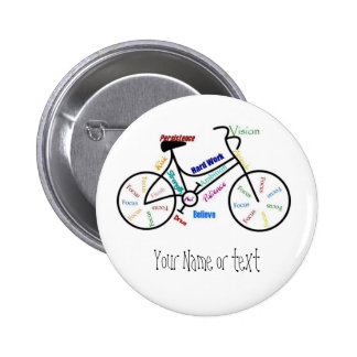 Motivational Bike, Bicycle, Cycling, Sport, Hobby Button