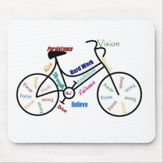 Motivational Bike, Bicycle, Cycling, Sport, Hobby Mouse Pad