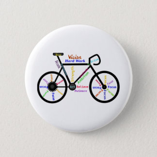 Motivational Bike, Cycle, Biking, Sport Words Button