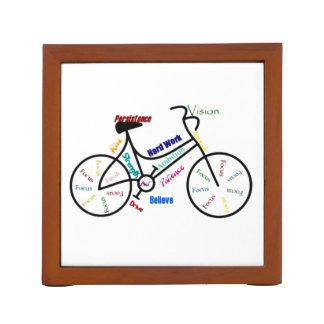 Motivational Bike Words for Sport Cycle Fans Pencil/Pen Holder